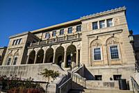 Memorial Union building on the campus of the University of Wisconsin, Madison, Wisconsin, USA.
