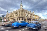 Gran Teatro de La Habana, Havana, Caribbean, Cuba, North America.