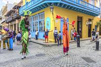 Old Havana, Cuba, North America.