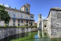Castillo de la Real Fuerza, Old Havana, Cuba, North America.