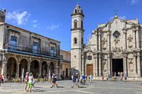 Catedral de La Habana, Old Havana, Cuba, North America.
