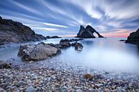 Bow Fiddle Rock, Scotland.