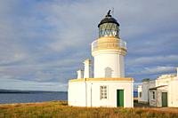 Chanonry Point lighthouse, Scotland.