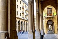 El Omari Mosque street, Downtown, Beirut, Lebanon.