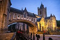 Christ Church Cathedral, Dublin, Ireland.