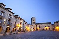Ainsa village, Huesca, Spain.