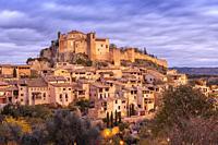 Alquezar village, Somontano de Basbastro, Huesca, Spain.
