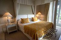 Inside a room in Finca Cortesin hotel in Málaga Costa del sol Andalusia Spain.