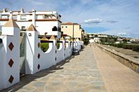 Casares white village Pueblo blanco, Costa del Sol, Malaga province, Andalucia Spain.