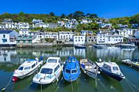 Polperro, Cornwall, England, United Kingdom, Europe.