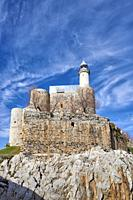 Lighthouse, Castro Urdiales, Cantabria, Spain, Europe.