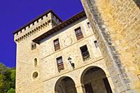 Quejana Complex of Historical Monuments, Palace of Pedro López de Ayala, 14th Century Civil Heritage, Listed Cultural Asset, Artziniega, Ayala, Álava,...