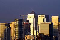 Canary Wharf - London, England.