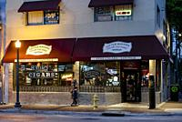 Cigar Store. Little Havana. Miami. Florida. USA.