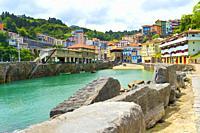 Fishing Port, Mutriku Harbour, Old Town, Mutriku, Guipúzcoa, Basque Country, Spain, Europe.