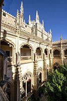 claustro Alto, Monasterio de San Juan de los Reyes, Toledo, Castilla-La Mancha, Spain.