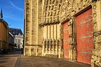 France, Burgundy, Yonne, Sens, Saint-Etienne cathedral.