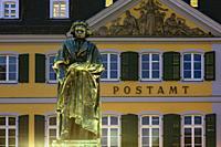 Bonn, D-Bonn, Rhine, Sieg, Kottenforst, Rhineland Nature Reserve, Rhineland, North Rhine-Westphalia, NRW, Beethoven memorial at the Minster Square, st...