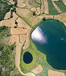 Lagunas de Gayangos - Antuzanos, Gayangos and Bárcena de Pienza, Merindad de Montija, Las Merindades, Burgos, Castilla y Leon, Spain, Europe.