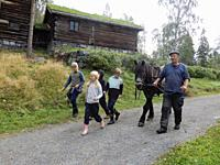 Maihaugen Open-Air Museum, Lillehammer, Norway.