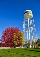 water tower, Smith's Falls, Ontario, Canada.