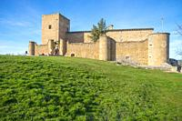 Medieval castle. Pedraza, Segovia province, Castilla Leon, Spain.