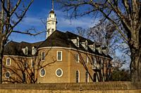 Capital building Colonial Williamsburgl here colonial leaders such as Patrick Henry, Thomas Jefferson, George Washington, met inside in the Virginia H...