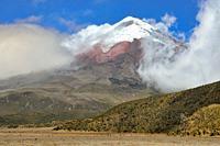 Cotopaxi (5897 m), Latacunga canton of Cotopaxi Province, Ecuador.