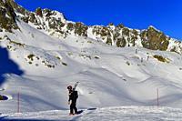 Brevent-Flegere Ski Area,Chamonix,France.