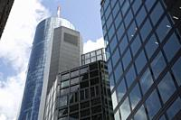 Main Tower in Frankfurt; Germany.
