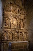 Capilla de San Pedro, catedral de Santa María de Calahorra, Calahorra, La Rioja , Spain, Europe.