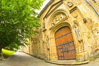 Monastery of Santa Clara de Bidaurreta, 16th Century Gothic-Resainnance-Mudejar Style, Historic-Artistic Monument, Oñati, Oñate, Guipúzcoa, Basque Cou...