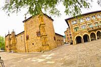Santcti Spiritus University, 16th Century Renaissance Style, Old Town, Oñati, Oñate, Guipúzcoa, Basque Country, Spain, Europe.