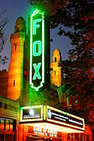 The historic Fox Theater in Atlanta, Georgia.