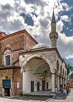 "Istambul, Turkey â. "" 07. 12. 2019. Church of Saints Sergius and Bacchus or Abu Serga on a cloudy summer day."