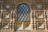 Building Detail, Church of St John the Baptist, UNESCO World Heritage Site, Yaroslavl, Golden Ring, Yaroslavl Oblast, Russia