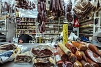 San Juan Gourmet Market, Mexico City.