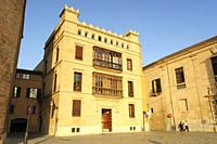 Can Espanya , plaza Mirador, obra de fray Santiago Cuñado a finales del siglo XIX , Neogótico, Mallorca, Islas Baleares, España.