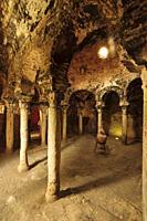 baños árabes, - Banys Ã. rabs - , siglo X, Palma, Mallorca, islas baleares, españa, europa.