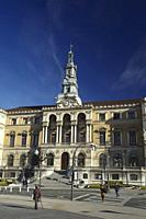 City Hall of Bilbao, Bilbao, Biscay, Basque Country, Euskadi, Spain, Europe.
