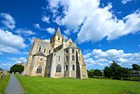 Cerisy la Foret abbey church in Normandy, France.