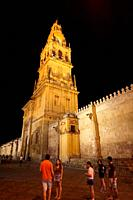 Bell tower. Mosque-Cathedral. City of Cordoba, Andalucia, Spain, Europe.