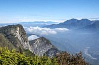 Ogasawara Mountain Watchtower, Alishan National Park, Taiwan