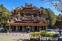 Temple in Alishan National Park, Taiwan