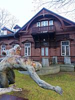 Poland. Bialystok. Museum of Sculpture of Alfons Karny, a famous polish artist.