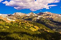 Loveland Pass is a high mountain pass in north-central Colorado, at an elevation of 11,990 feet (3,655 m) in the Rocky Mountains. It is located on the...
