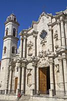 Cathedral de San Cristobal, Plaza de la Cathedral, Old Town, UNESCO World Heritage Site, Havana, Cuba