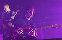 Madrid, February 2nd: Explosions in the Sky performs during 20 anniversary tour at Sala La Riviera on February 2, 2020 in Madrid, Spain. (Photo by Ang...