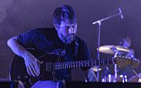 Madrid, February 2nd: Mark Smith of Explosions in the Sky performs during 20 anniversary tour at Sala La Riviera on February 2, 2020 in Madrid, Spain....
