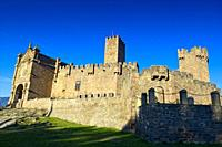 Castle of Xavier, the birthplace of Saint Francis Xavier. Navarre, Spain, Europe.